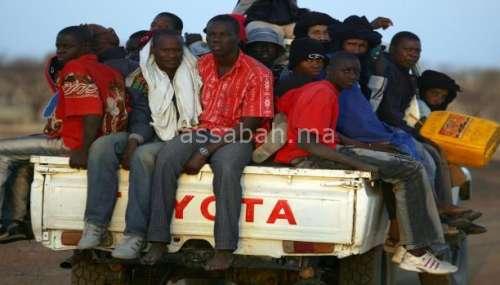 الدرك الجزائري يعتدي من جديد على مهاجرين أفارقة