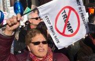 مسيرات احتجاجية جديدة ضد ترامب