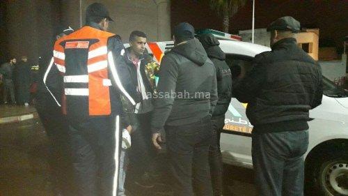 بالصور ...اعتقال عصابة روعت قطارا بالبيضاء