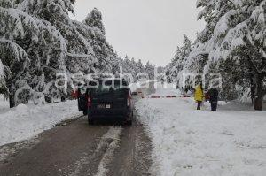 الثلوج تهزم وزارة التجهيز