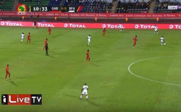 فيديو .. فوز بوركينا فاسو على غينيا بيساو