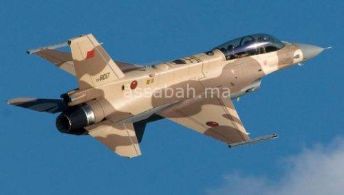فيديو ... تحطم الطائرة العسكرية المغربية قرب تاونات