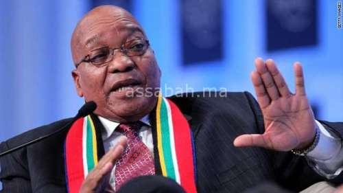 الحزب الحاكم في جنوب إفريقيا يعزل الرئيس زوما