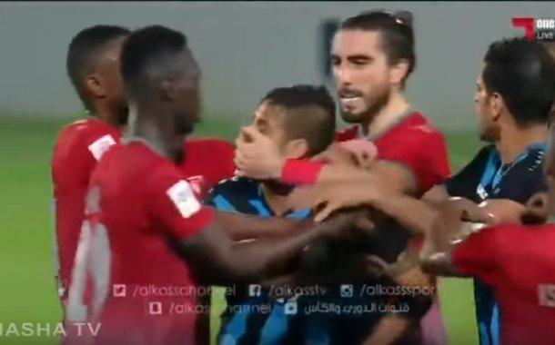 فيديو .. اعتداء على متولي في قطر