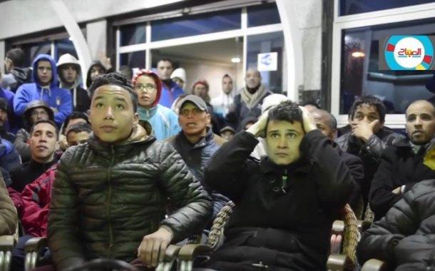 فيديو .. تفاعلات الجمهور المغربي في مباراة الأسود وطوغو