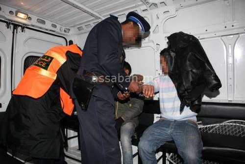 اعتقال عصابة نفذت سرقات بدراجة شرطي