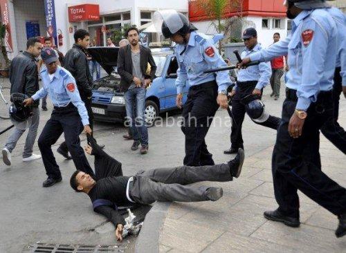 الأمن: لم نستعمل المطاط أو الغاز في مظاهرة الحسيمة