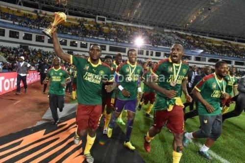 صور تتويج الكامرون بكأس إفريقيا