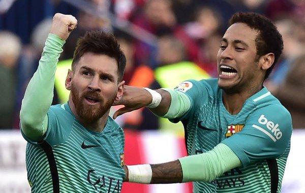 فيديو .. برشلونة يسقط أتلتيكو مدريد في ملعبه