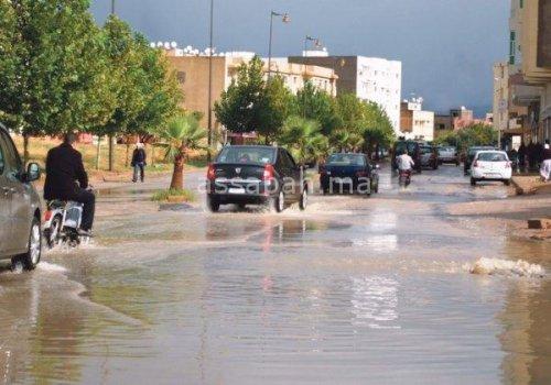 فيضانات ترعب السكان بمريرت