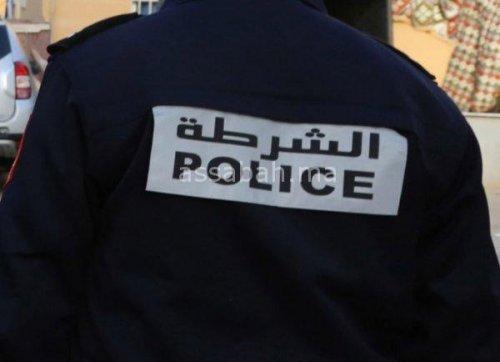اعتقال شرطي بسلا ارتكب حادثة سير وفر هاربا