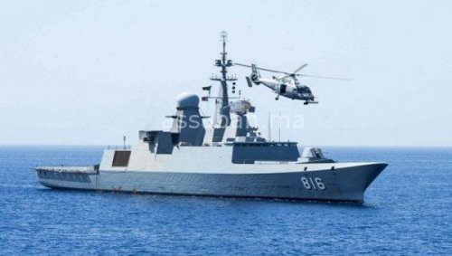 فرقاطة سعودية تتعرض لاعتداء في البحر الأحمر