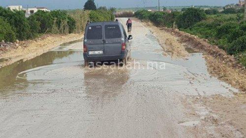 الأمطار تعزل دواوير عن الجديدة