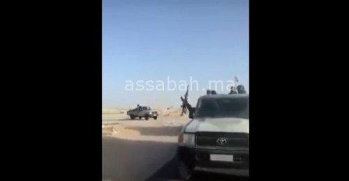 فيديو ..جنود البوليساريو يستفزون المغرب ويتوغلون في الصحراء