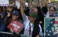 فيديو .. مظاهرات ضخمة لمسلمي نيويورك ضد ترامب