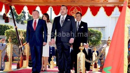 ملك الأردن في زيارة للمغرب