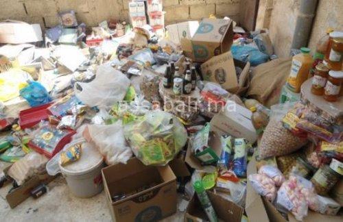 حجز 670 طن من المواد الغذائية الفاسدة في شهرين