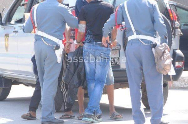 اعتقال المعتدين على شاب بالجديدة