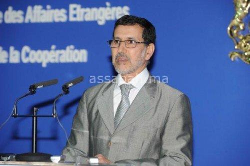 العثماني في اجتماع لتتبع إنجاز مدينة محمد السادس بطنجة