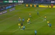 فيديو .. فوز البرازيل على أوروغواي يقربها من كأس العالم