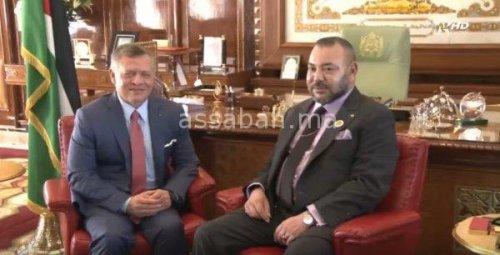 فيديو .. الملك في مشاورات مع عاهل الأردن ويدشنان تظاهرة