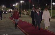 فيديو ..الملك يقيم مأدبة عشاء رسمية على شرف ملك الأردن