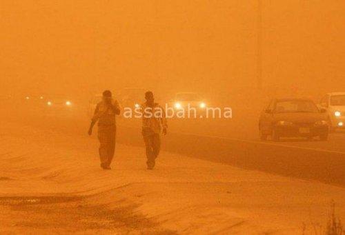 عاصفة رملية غير مسبوقة تضرب مصر