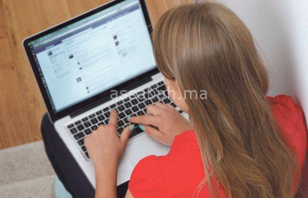 فتيات ضمن شبكة للنصب عبر فيسبوك