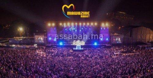 برنامج الفنانين المغاربة بموازين