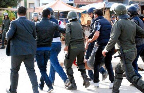 محاكمة 14 معتقلا على خلفية أحداث فاس