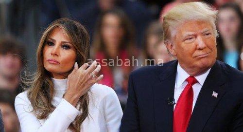 مجلة تفضح العلاقة المتوترة بين ترامب وزوجته
