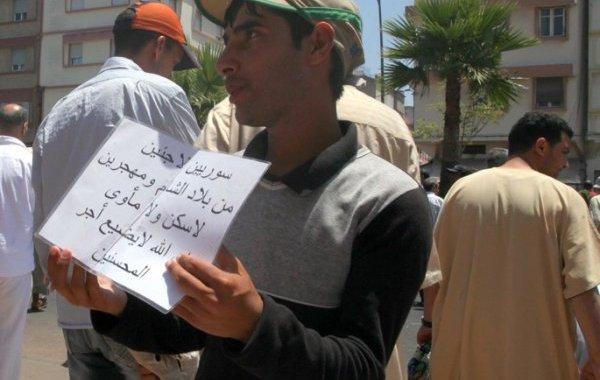 الجزائر تستعمل سوريين دروعا بشرية للابتزاز