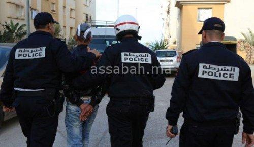 اعتقال 3 أشخاص اعتدوا على سيدة وسرقوا سيارتها بالبيضاء