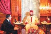 بلاغ من الديوان الملكي ... الملك يستقبل العثماني
