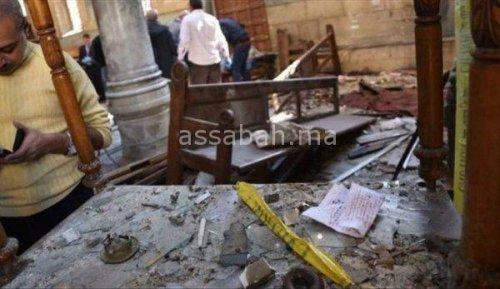 المعلومات الأولى عن انتحاري كنيسة جرجس بمصر