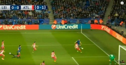 فيديو ..أتلتيكو مدريد يتجاوز ليستر بصعوبة