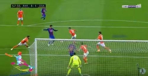 فيديو .. برشلونة يكتسح أوساسونا
