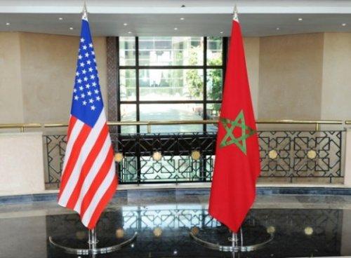 """انطلاق مناورات """"الأسد الإفريقي 17 """" في المغرب بمشاركة أمريكية Drapeaux-620x456"""