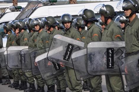 إصابات في مواجهات بين طلبة والقوات العمومية بفاس