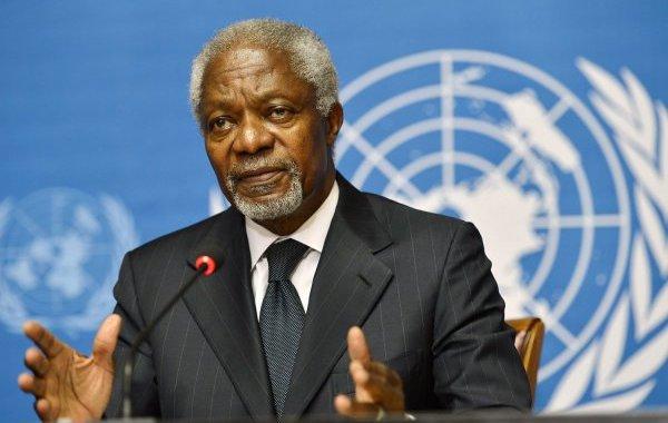 وفاة الأمين العام الأسبق للأمم المتحدة كوفي عنان