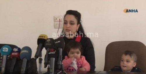 فيديو ..مغربية هاربة من داعش تناشد للعودة إلى بلدها