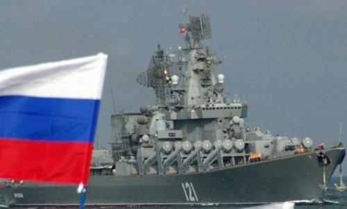 غرق سفينة حربية روسية قرب تركيا