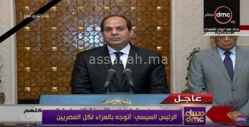 فيديو .. السيسي يخاطب المصريين بعد هجومي القاهرة والاسكندرية