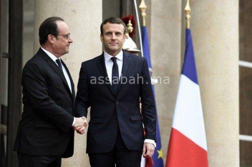 بالصور .. ماكرون يتسلم مقاليد حكم فرنسا