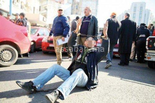 Manifestation_des_chauffeurs_de_taxis_contre_Uber_a_Casablanca_09022017_Ph_Jarfi__