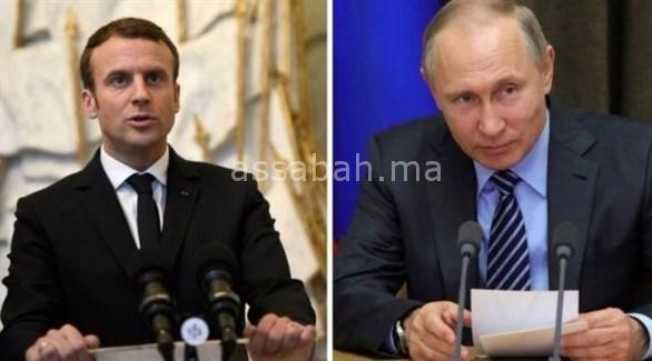 ماكرون يلتقي بوتين اليوم