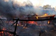 إصابات في حريق مهول بالصخيرات