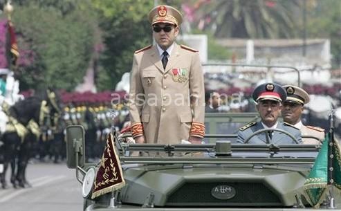 الملك يوجه رسالة للقوات المسلحة في ذكرى التأسيس