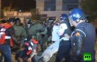 فيديو .. مواجهات الأمن ومحتجي الحسيمة على قناة