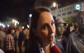 فيديو ...نبيلة منيب تتضامن مع حراك الريف